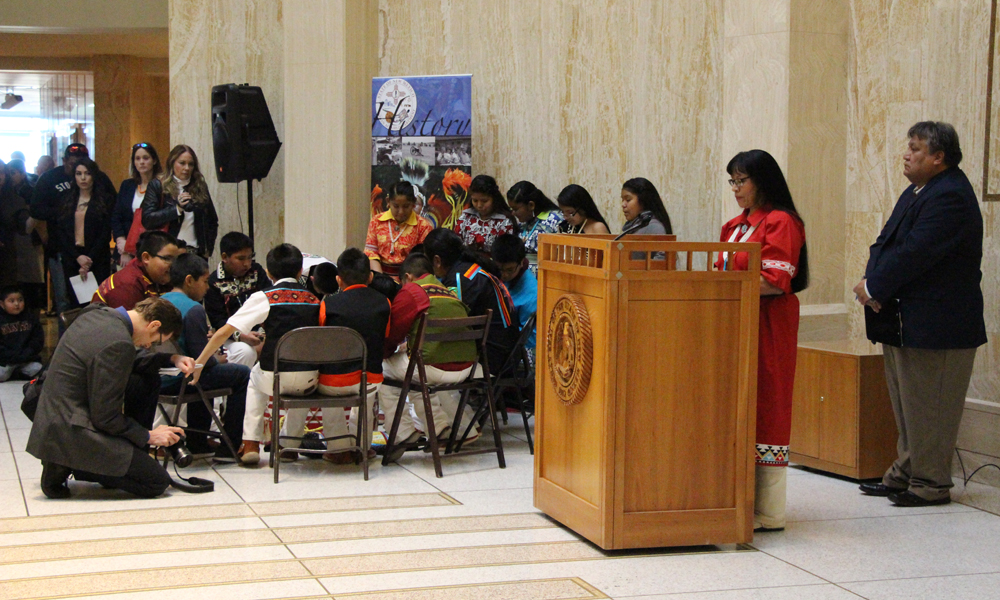 2018 American Indian Day at the State Legislature